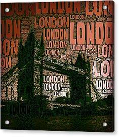 #london Just London Acrylic Print