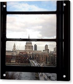 London Love Affair #photooftheday Acrylic Print by A Rey