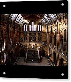 #london #nationalhistory #darwin Acrylic Print