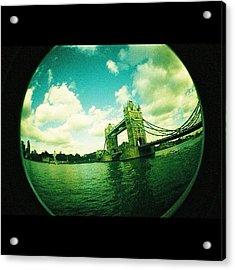 #london Acrylic Print