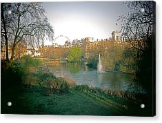 London Park Acrylic Print by Blake Yeager