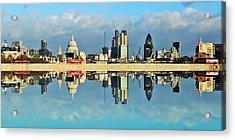 London Skyline Acrylic Print by Sharon Lisa Clarke
