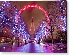 London Acrylic Print by Damien Keating