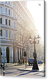 London Street Acrylic Print by Elena Elisseeva