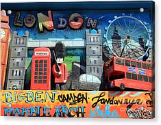 London Symbols Acrylic Print by Sophie Vigneault