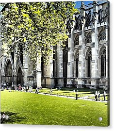 #london2012 #london #church #stone Acrylic Print