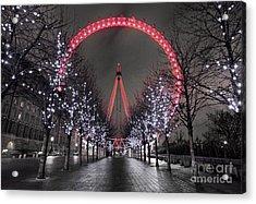 Londoneye Acrylic Print by Damien Keating