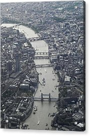 Londres, London Acrylic Print by Mono Andes