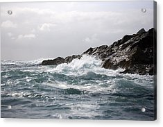 Lonely Cape St. James At Southern Point Acrylic Print by Pete Ryan