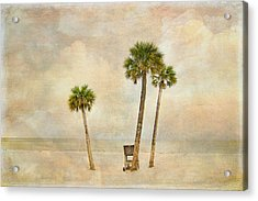 Lonely Shores Acrylic Print by Stephen Warren