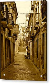 Lonely Street Acrylic Print by Michael Cinnamond