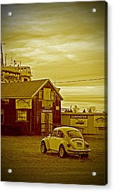 Acrylic Print featuring the photograph Lonely Vw by Randall  Cogle