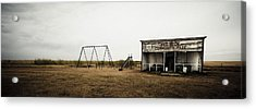 Lonesome Playground Acrylic Print