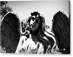 Long Haired Angel Acrylic Print