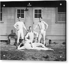 Long Johns On Acrylic Print by Archive Photos