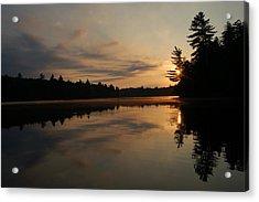 Long Pond Sunset Acrylic Print