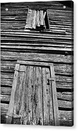 Long Tall Barn Acrylic Print by Greg Sharpe