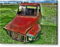 Long Term Parking Acrylic Print