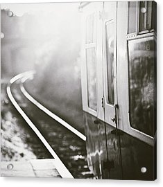 Long Train Running Acrylic Print by James Homer