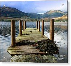 Acrylic Print featuring the photograph Long Walk Off A Short Pier by Lynn Bolt