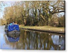 Longboat Acrylic Print by Terry Beecher