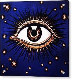 Look Em In The Eye Acrylic Print by Bill Cannon