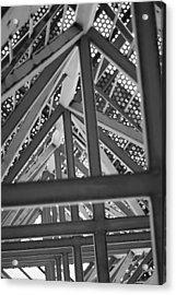 Look Up Acrylic Print by Rick Bott