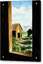 Lookin Out Acrylic Print