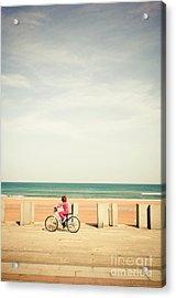 Looking At The Horizon Acrylic Print by Inhar Mutiozabal
