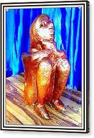 Looking For A Daily Wage Acrylic Print by Anand Swaroop Manchiraju
