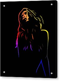 Looking For Acrylic Print by Steve K