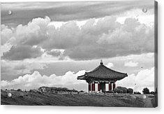 Acrylic Print featuring the photograph Looks Like Korea by Kevin Bergen