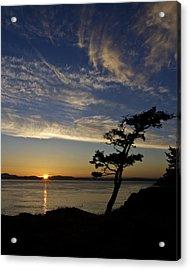 Lopez Island Sunset Acrylic Print