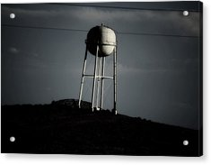 Acrylic Print featuring the photograph Lopsided Tower by Jessica Shelton