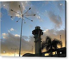 Los Angeles Airport Acrylic Print by Ian Stevenson