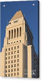 Los Angeles City Hall Acrylic Print