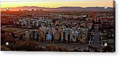 Los Angeles Vista Acrylic Print by Photo taken by Phong Ho