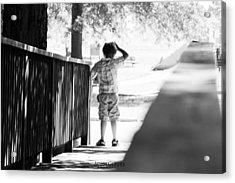 Lost Boy Acrylic Print by Adam Gerdes