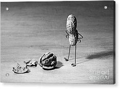 Lost Brains 02 Acrylic Print by Nailia Schwarz