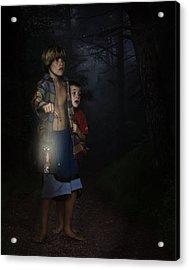 Lost Acrylic Print by Hazel Billingsley