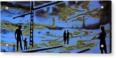 Lost In Translation - Serigrafia Arte Urbano Acrylic Print by Arte Venezia