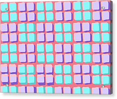 Lots Of Squares Acrylic Print