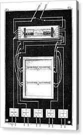 Loudspeaker Apparatus, 19th Century Acrylic Print