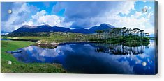 Lough Derryclare, Connemara, Co Galway Acrylic Print by The Irish Image Collection