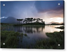 Lough Derryclare, Twelve Bens, Co Acrylic Print by Peter McCabe