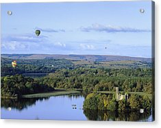 Lough Key Forest And Activity Park Acrylic Print by The Irish Image Collection