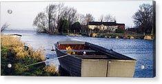 Lough Neagh, Co Antrim, Ireland Boat In Acrylic Print by Sici