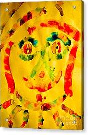 Louie Acrylic Print by Bill Davis