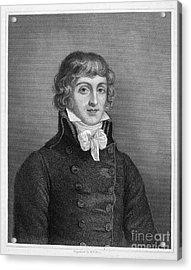 Louis Saint-just (1767-1794) Acrylic Print by Granger