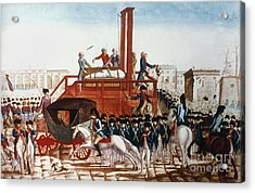 Louis Xvi: Execution Acrylic Print by Granger